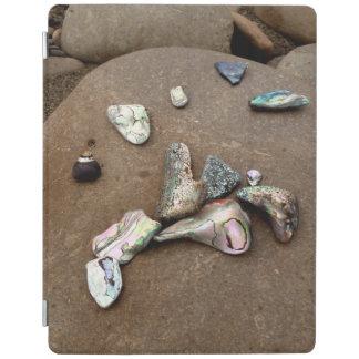 アワビの貝のiPadカバー iPadスマートカバー