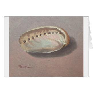 アワビの貝 カード