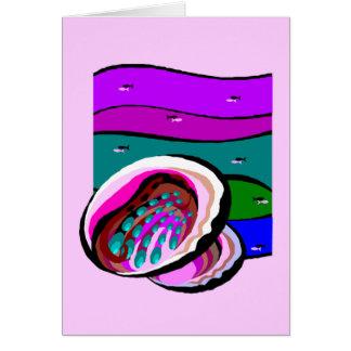 アワビ カード