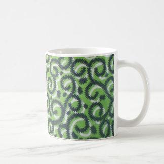 アンカラの緑のマグ コーヒーマグカップ
