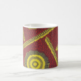 アンカラの赤いマグ コーヒーマグカップ