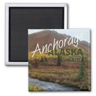 アンカレッジアラスカ米国の記念品の冷蔵庫用マグネット マグネット