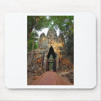 アンコール・トム、カンボジアの北のゲート マウスパッド