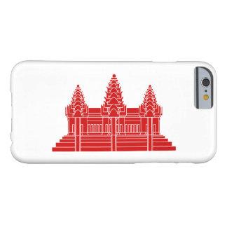 アンコール・ワットのカンボジア語/クメール王国の旗 BARELY THERE iPhone 6 ケース