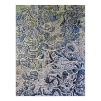 アンコール・ワットのヒンズー教の地獄の描写 ポストカード