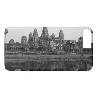 アンコール・ワットの寺院のカンボジアの写真の古代史 iPhone 8 PLUS/7 PLUSケース