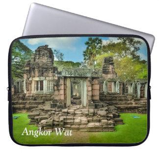 アンコール・ワットの寺院のカンボジアユネスコ ラップトップスリーブ
