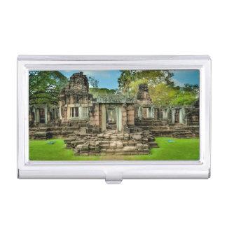 アンコール・ワットの寺院のカンボジアユネスコ 名刺入れ