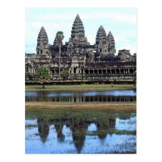 アンコール・ワットカンボジアの寺院旅行写真撮影 ポストカード