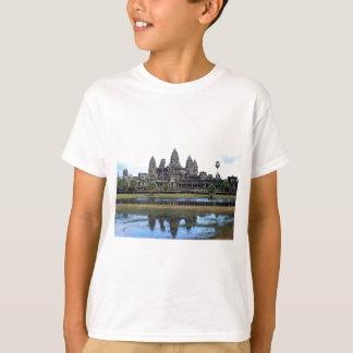 アンコール・ワットカンボジアの寺院旅行写真撮影 Tシャツ