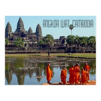 アンコール・ワットカンボジアの郵便はがき ポストカード