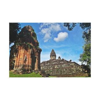 アンコール・ワット-カンボジア キャンバスプリント