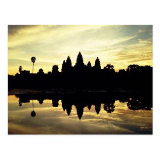 アンコール・ワット、カンボジア-郵便はがき ポストカード