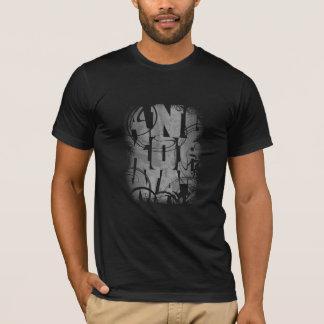 アンコール・ワット-黒 Tシャツ