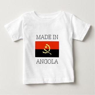 アンゴラで作られる ベビーTシャツ