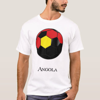 アンゴラのワールドカップのサッカーのTシャツ Tシャツ