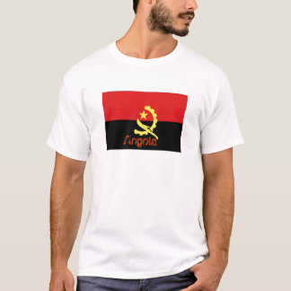 アンゴラの旗の記念品のTシャツ Tシャツ