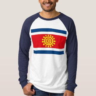 アンゴラの旗のTシャツ Tシャツ