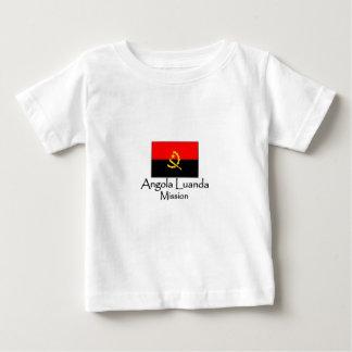 アンゴラルアンダLDSの代表団のTシャツ ベビーTシャツ