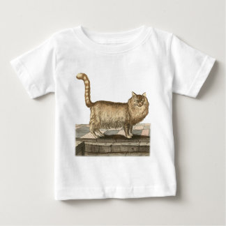 アンゴラ猫 ベビーTシャツ