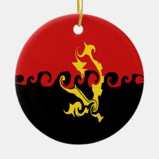 アンゴラ|すごい|旗 クリスマスツリーオーナメント