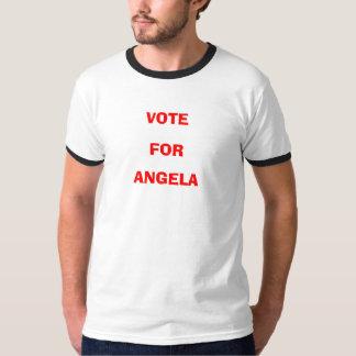 アンジェラのための投票 Tシャツ