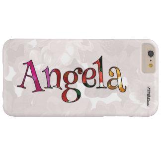 アンジェラのカラフルなおもしろいの携帯電話の箱のための BARELY THERE iPhone 6 PLUS ケース