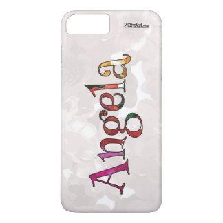アンジェラのカラフルなおもしろいの携帯電話の箱のための iPhone 8 PLUS/7 PLUSケース