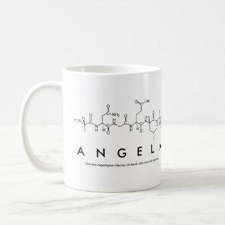 アンジェラのペプチッド名前のマグ コーヒーマグカップ