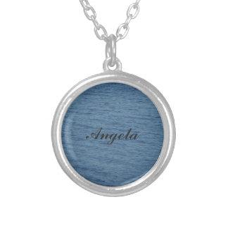 アンジェラ-ネックレス シルバープレートネックレス