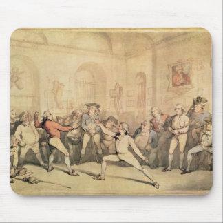 アンジェロのフェンシング部屋、パブ。 1787年 マウスパッド