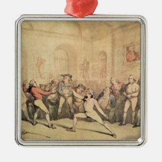 アンジェロのフェンシング部屋、パブ。 1787年 メタルオーナメント