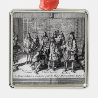 アンジューのPhilippe deフランス公爵 メタルオーナメント