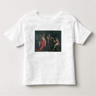 アンゼリカおよび係留、Medoro 1634年(キャンバスの油 トドラーTシャツ