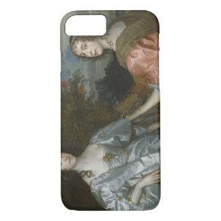 アンソニーvan Dyck -カサリンの伯爵婦人の… iPhone 8/7ケース