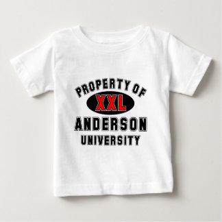 アンダーソン大学の特性 ベビーTシャツ