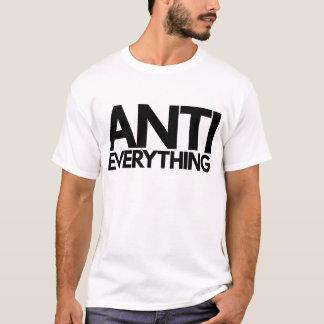 アンチすべて Tシャツ