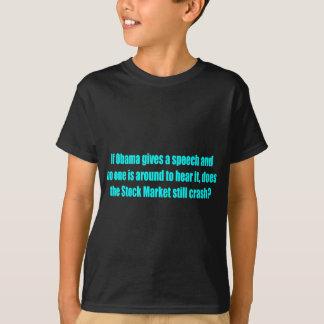 アンチオバマのTシャツ、バンパーステッカーおよびマグ! Tシャツ
