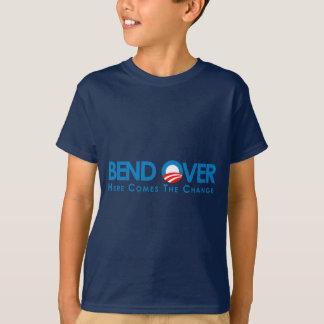 アンチオバマ-くねり変更のために Tシャツ