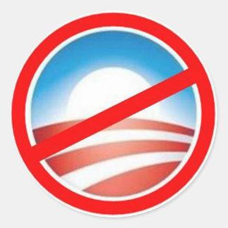アンチオバマ-オバマ無し2012年 ラウンドシール