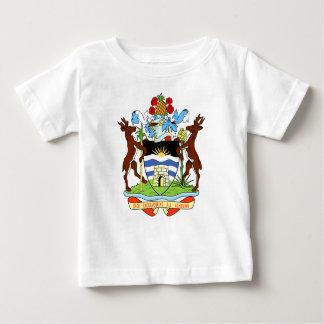 アンチグアおよびバルバドスの国民のシール ベビーTシャツ