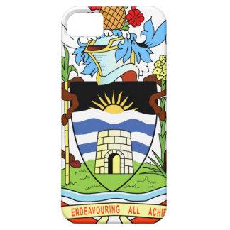 アンチグアおよびバルバドスの国民のシール iPhone SE/5/5s ケース