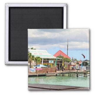 アンチグアのカリブの島 マグネット