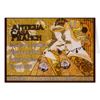アンチグアの家Franch カード
