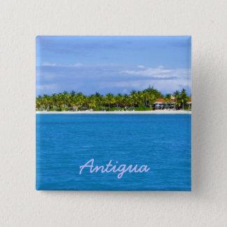 アンチグアの島Pin 缶バッジ