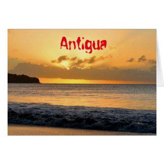 アンチグアの熱帯島 カード