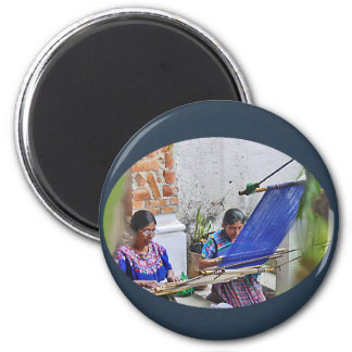 アンチグアの織工 マグネット