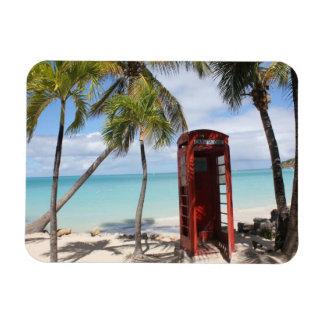 アンチグアの赤い公衆電話ブース マグネット