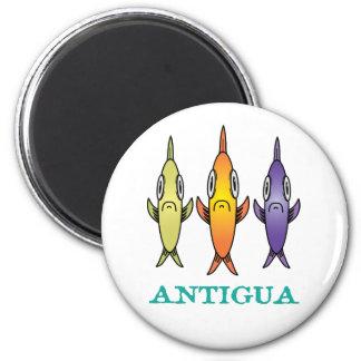 アンチグアの3魚 マグネット