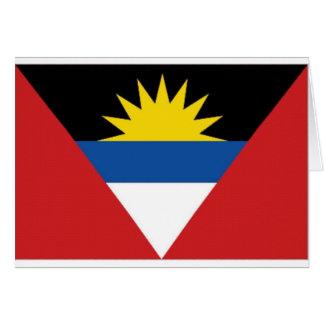 アンチグアバーブーダの国旗 カード